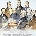 Abraham Lincolns Cabinet by Granger