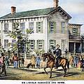 Abraham Lincolns Home by Granger