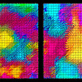 Abstract - Ripples Diptych by Steve Ohlsen