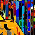 Abstract 26 by Burney Lieberman