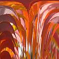 Abstract Autumn by Debra     Vatalaro