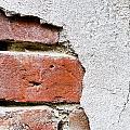Abstract Brick Wall II by Ray Laskowitz