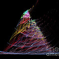 Abstract Christmas Tree 1 by Russell Kightley