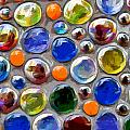 Abstract Digital Art Multi Colored Glass Balls by Aleksandr Volkov