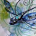 Abstract Dragonfly 10 by J Vincent Scarpace