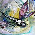Abstract Dragonfly 11 by J Vincent Scarpace