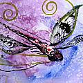 Abstract Dragonfly 6 by J Vincent Scarpace