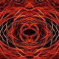 Abstract Fire by Ricky Barnard
