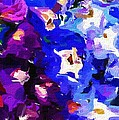 Abstract Floral 031112 by David Lane
