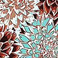 Abstract Flower 17 by Sumit Mehndiratta
