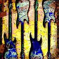 Abstract Guitars by David G Paul
