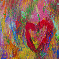 Abstract Heart by Garry Gay