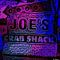 Abstract Joe's Crabshack Sign by George Pedro