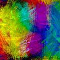 Abstract Multi Colors by Carrie OBrien Sibley