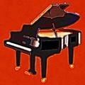 Abstract Piano by David G Paul