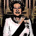 Abstract Portrait Of A Queen by George Pedro