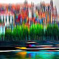 abstract Portuguese city Porto-2 by Joel Vieira