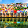 abstract Portuguese city Porto-5 by Joel Vieira