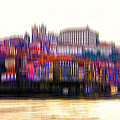 abstract Portuguese city Porto-8 by Joel Vieira