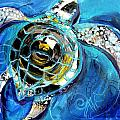 Abstract Sea Turtle In C Minor by J Vincent Scarpace