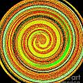 Abstract Spiral by Blair Stuart
