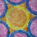 Abstract Sun by Sonali Gangane