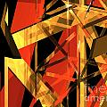 Abstract Tan 2 by Russell Kightley