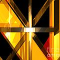 Abstract Tan 3 by Russell Kightley