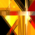 Abstract Tan 5 by Russell Kightley