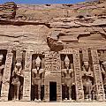 Abu Simbel Egypt 3 by Bob Christopher