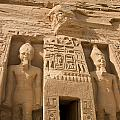 Abu Simbel Temple by Darcy Michaelchuk