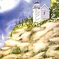 Acadia Lighthouse by Joseph Gallant