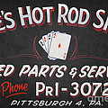 Ace's Hot Rod Shop by Clarence Holmes