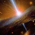 Active Galaxy M87 by Julian Baum