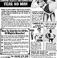 Ad: Body-building, 1969 by Granger