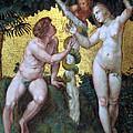Adam And Eve by Munir Alawi