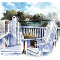 Adirondack Chairs Too by Andrew King