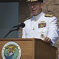 Admiral Mike Mullen Speaks by Michael Wood