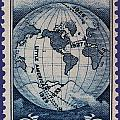 Admiral Richard Byrd Postage Stamp by James Hill