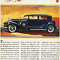 Ads: Packard, 1932 by Granger