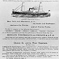 Advertisement: Steamship by Granger