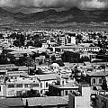 Aerial View From Southern Nicosia Over Northern Turkish Controlled Nicosia In Nicosia Lefkosia by Joe Fox