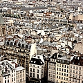 Aerial View Of Paris by Landscape and urban landscape