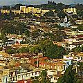 Aerial View Of Santiago De Cuba, Cuba by Axiom Photographic
