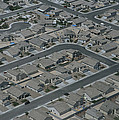 Aerial View Of Suburban by National Geographic