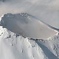 Aerial View Of Summit Of Shishaldin by Richard Roscoe