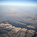Aerial View Of The Mountainous by Stocktrek Images