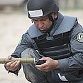 Afghan Police Student Prepares by Terry Moore