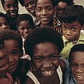 African American Children On The Street by Everett