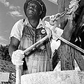 African American Construction Worker by Everett
